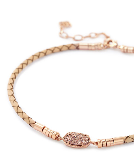 Cooper Necklace in Rose Gold Plate