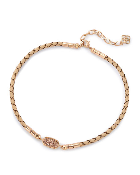 Kendra Scott Cooper Necklace in Rose Gold Plate