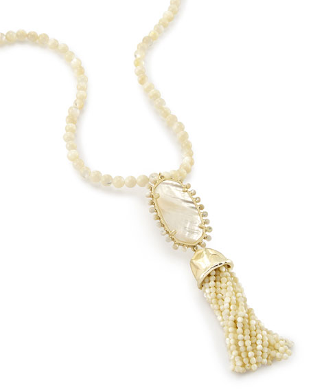Tatiana Necklace in 14k Gold Plate