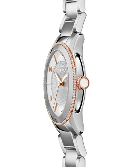 Gail 36mm Stainless Steel Bracelet Watch