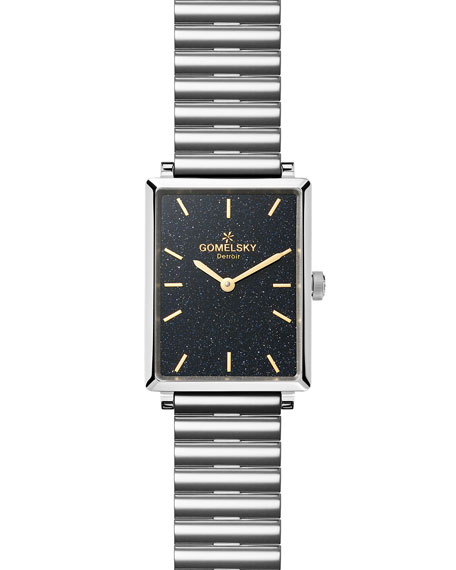 Gomelsky The Shirley 32mm Watch, Silver