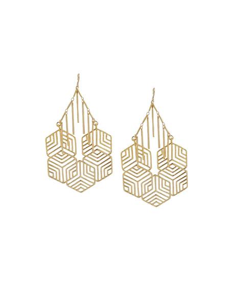 Devon Leigh Geometric Statement Earrings mvGSn8whu