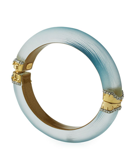 Alexis Bittar Frosted Ombre Bangle Bracelet JYmZkhTuH