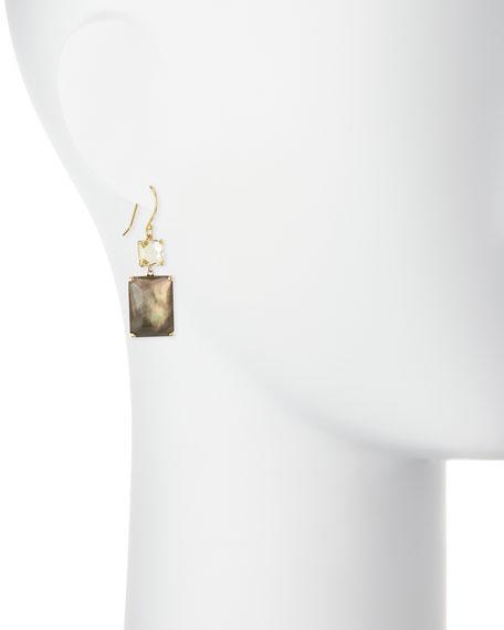 Rock Candy® Snowman 18k Citrine Rectangle Drop Earrings