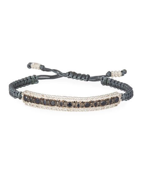 Armenta New World Pull Cord Bracelet with Black