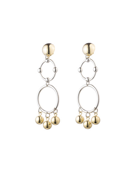 Barbell Chandelier Earrings