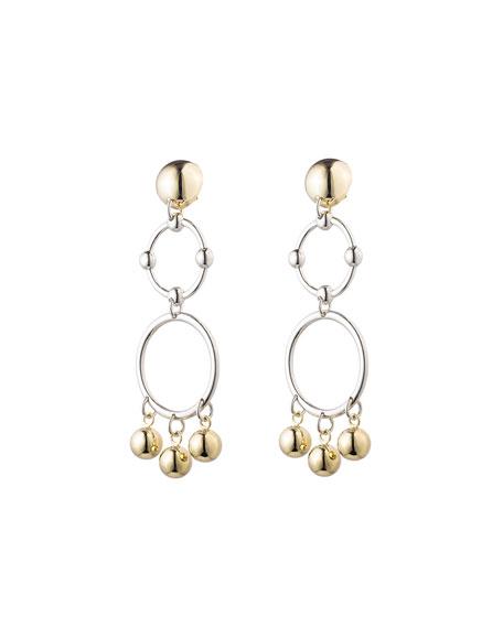 Eddie Borgo Barbell Chandelier Earrings
