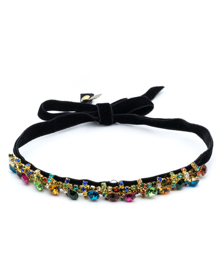 Freida Velvet Choker Necklace