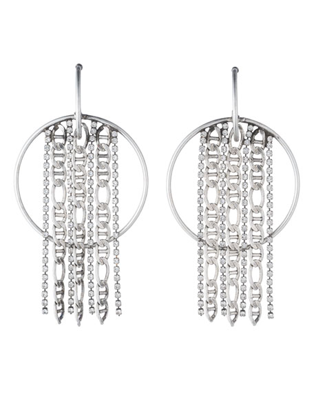 Dannijo Bruni Hoop Statement Earrings
