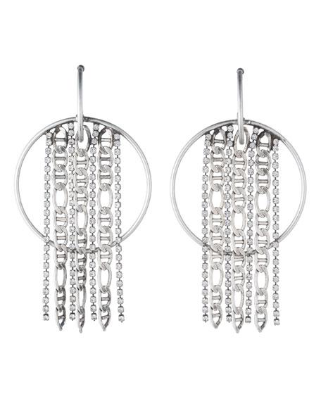 Bruni Hoop Statement Earrings