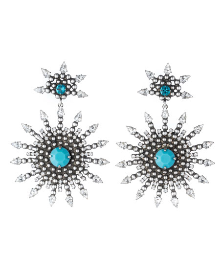 Dannijo Delano Statement Drop Earrings