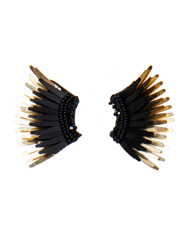 Mignonne Gavigan Mini Madeline Statement Earrings Black