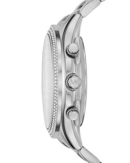 42mm Slim Runway Stainless Steel Hybrid Smartwatch