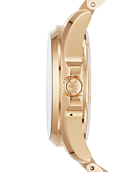 Bradshaw Golden Display Smartwatch with Crystals