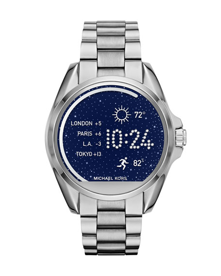 Michael Kors Bradshaw Stainless Steel Display Smartwatch