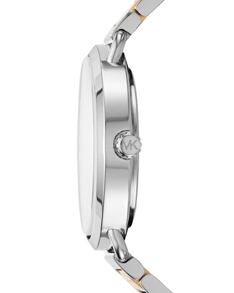 36.5mm Portia Two-Tone Bracelet Watch