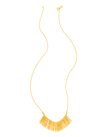 gorjana Kylie Fan Necklace, Gold