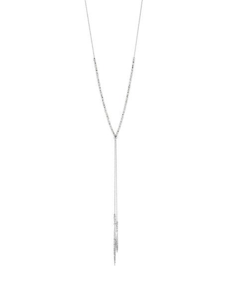 Laguna Adjustable Necklace, Silver