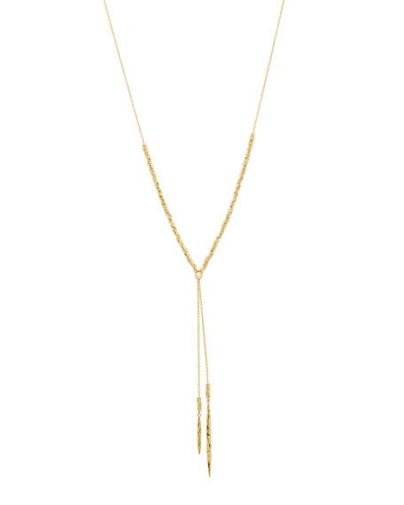 Laguna Adjustable Necklace, Gold