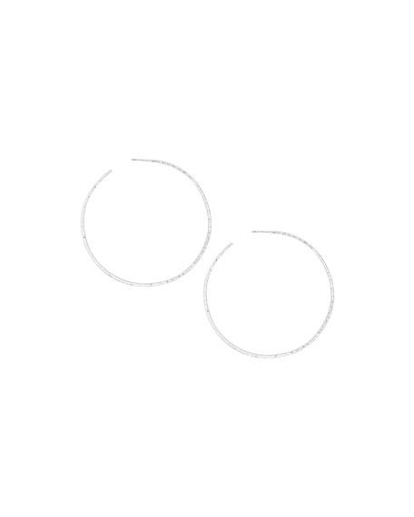 Gorjana Taner XL Hoop Earrings, Silver