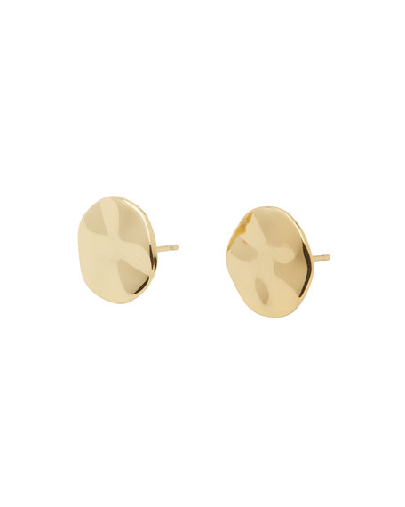 gorjana Chloe Small Stud Earrings, Gold