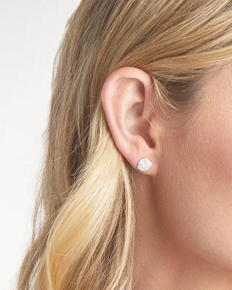 Chloe Small Stud Earrings, Silver