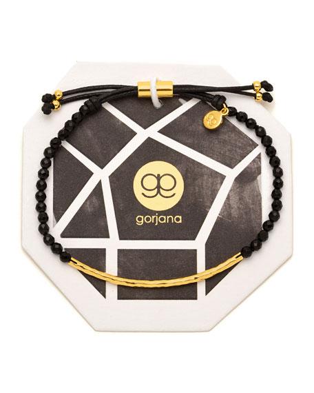 gorjana power gemstone black onyx bracelet for protection