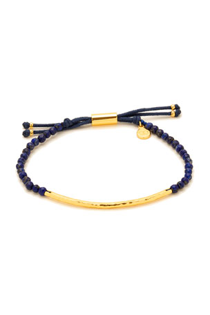 gorjana Power Gemstone Lapis Bracelet for Wisdom, Gold