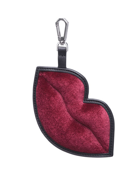Lush Lips Charm For Handbag