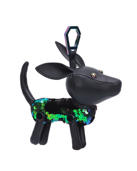 Kendall + Kylie Sophie Sequined Dog Charm for