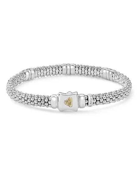 6mm Diamond Lux Three-Station Bracelet
