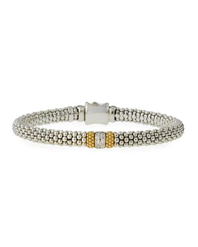 Diamond Lux Small Station Bracelet