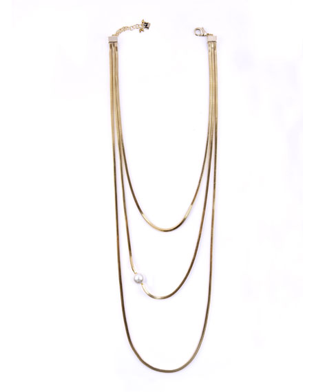 Layered Snake Chain Necklace