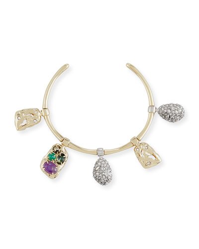 Swinging Charm Small Cuff