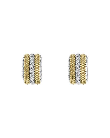 Diamond Lux Mini Hoop Earrings