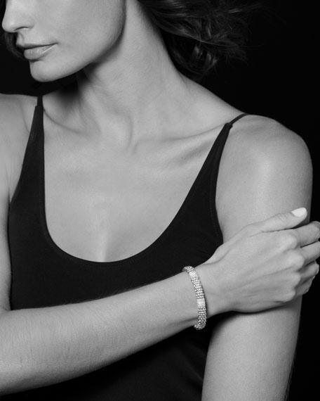 Diamond Lux 9mm Three Station Bracelet with Diamonds
