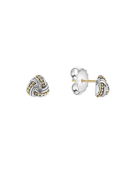 Lagos Small Caviar Knot Earrings