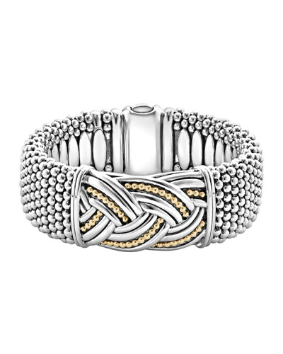 23mm Extra Wide Torsade Knot Bracelet