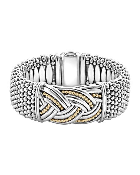 Lagos 23mm Extra Wide Torsade Knot Bracelet