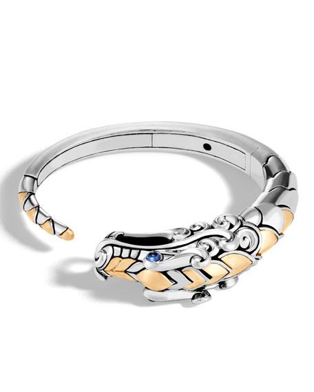 Legends Naga 18K Gold & Silver Small Kick Cuff Bracelet