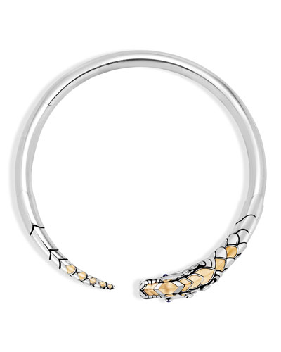 Legends Naga 18K Gold & Silver Hinged Necklace
