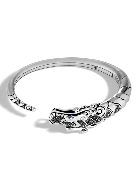 Legends Naga Silver Small Kick Cuff Bracelet