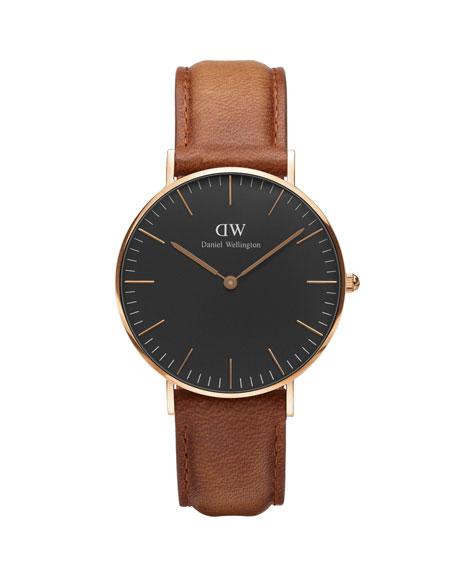 36mm Classic Durham Watch Brown/Black