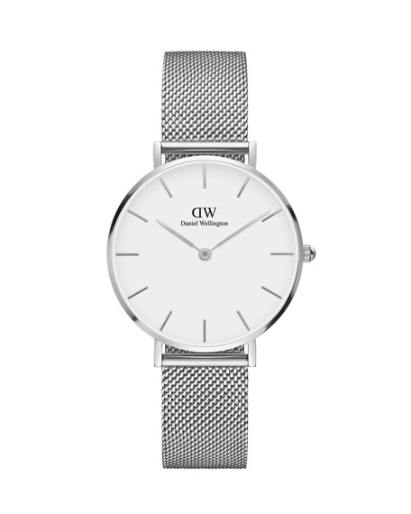 32mm Classic Petite Melrose Bracelet Watch w/White Dial