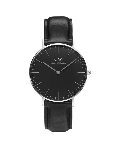 36mm Classic Black Sheffield Watch