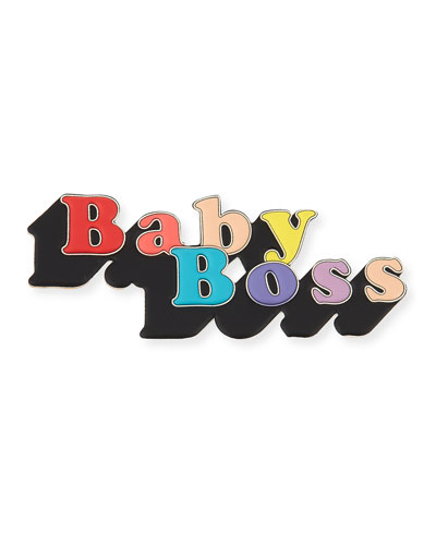Baby Boss Sticker for Handbag
