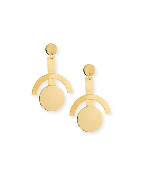 Telescope Statement Earrings