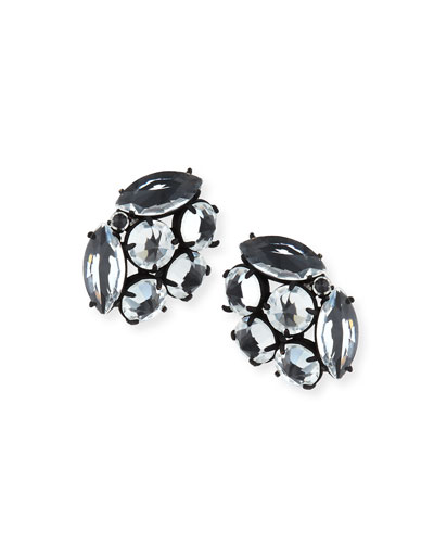 Diamanda Crystal Stud Earrings