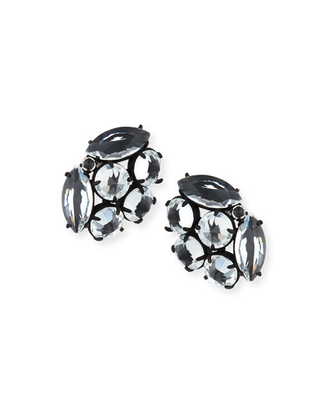Diamanda Crystal Stud Earrings