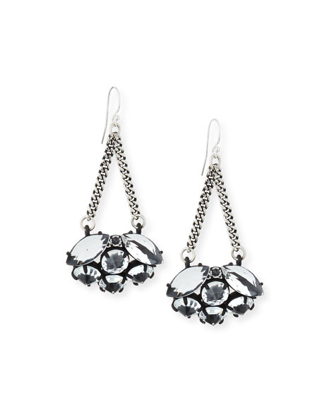Lulu Frost Diamanda Chain Drop Earrings
